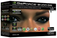 produkt-foto van 'Sweex Geforce 8400gs video-kaart (512mb - pci-e)'