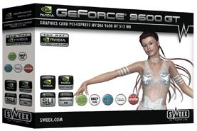 produkt-foto van 'Sweex Geforce 9600gt video-kaart (512mb - pci-e)'