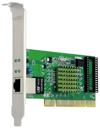 produkt-foto van 'Sweex 10/100/1000m netwerkkaart (pci - utp)'