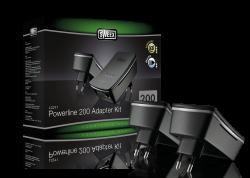 produkt-foto van 'Sweex Netwerk 200m via Stopcontact (UTP - set = 2 adaptors'