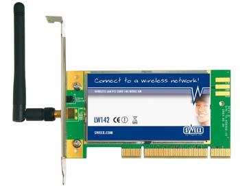 produkt-foto van 'Sweex Wireless NITRO XM kaart ..140mbit (pci)'