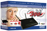 produkt-foto van 'Sweex Router/Switch/Wireless 300mbit (802.11n)'
