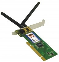 produkt-foto van 'Sweex Wireless kaart 300n (pci - 300mbit - 802.11n)'