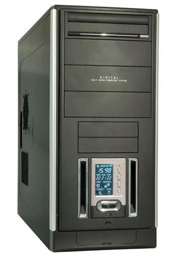 produkt-foto van 'MIDI-Tower (Prescott Galaxy - LCD paneel - zonder voeding)'