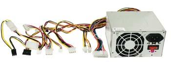 produkt-foto van 'Voeding 400 Watt (ATX - 20 & 24-pins plug)'