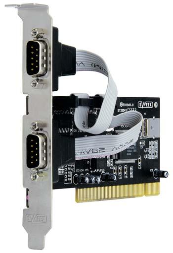 produkt-foto van 'Sweex Serieël (2x) kaart (PCI)'