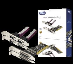 produkt-foto van 'Sweex Parallel (1x) & Serieël (2x) kaart (PCI)'