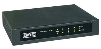 produkt-foto van 'Sweex Router + Switch II (4x UTP)'