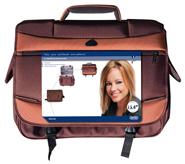 "produkt-foto van 'Sweex Laptop tas (Messenger Urban - Zwart - 15,4"" scherm)'"