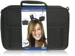 """produkt-foto van 'Sweex Laptop tas (Eenvoudig - Zwart - 15,4"""" scherm)'"""