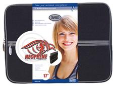 """produkt-foto van 'Sweex Laptop tas (Sleeve Classic - Zwart - 17"""" scherm)'"""