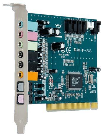 produkt-foto van 'Sweex Geluidskaart 7.1 (PCI)'