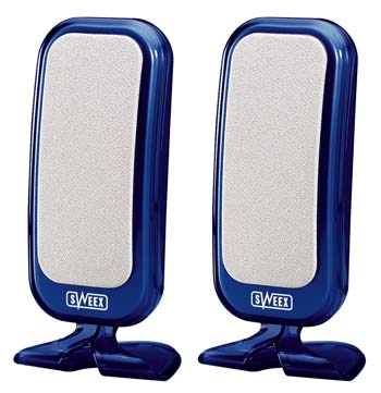 produkt-foto van 'Sweex speakerset 100 watt (blauw - usb)'