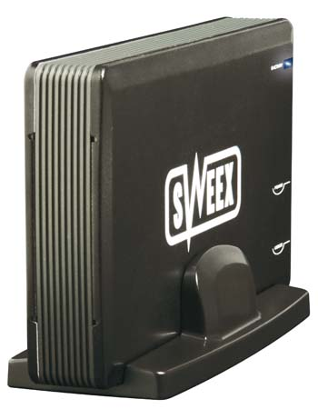"produkt-foto van 'Sweex Behuizing 3,5"" harddisk (pata - fireWire & usb 2.0)'"
