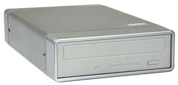"""produkt-foto van 'Sweex Behuizing 5.25"""" voor CD & DVD (pata - usb 2.0)'"""