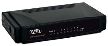 produkt-foto van 'Sweex Switch 10/100mbit (UTP - 8 poorts)'