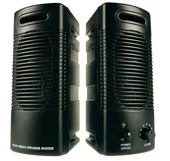 produkt-foto van 'Sweex speakerset, 150 Watt PMPO (zwart)'
