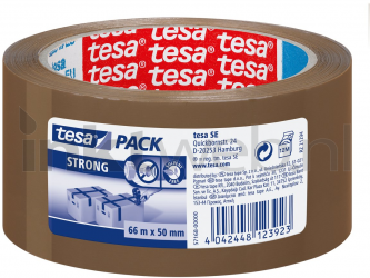 produkt-foto van 'Tesa verpakkingsplakband - breedte = 50mm, lengte = 66m, bruin'