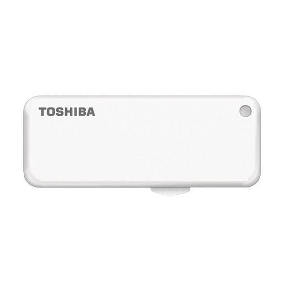 produkt-foto van 'Toshiba 16gb stick - usb 2.0, Trasnmemory u203, wit'
