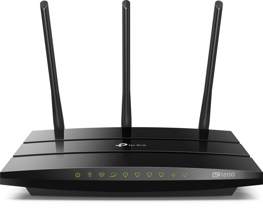 produkt-foto van 'TP-Link Wireless Router - Archer c1200, 4x 10/100m, wireless-n'