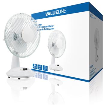 """produkt-foto van 'ValueLine Ventilator - 23cm, 9"""", 2 snelheden'"""