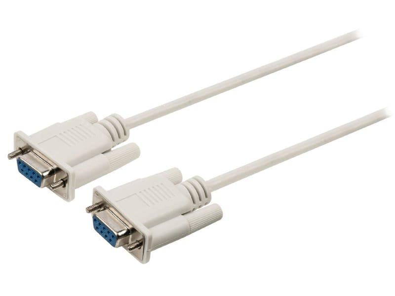 produkt-foto van 'Nul-modem kabel - Serieël, 9f/f, 2m, value-line'
