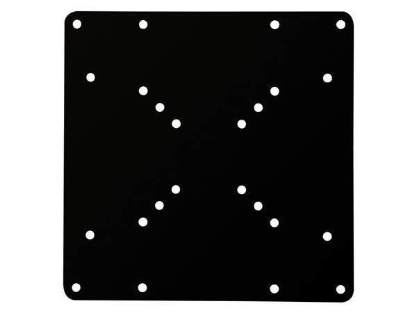 produkt-foto van 'Velleman Conversie Plaat - diverse conversies van SCHERM-BEUGEL tot 200x100mm'