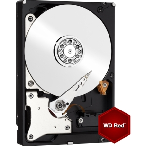 "produkt-foto van 'W.D. harddisk - 3tb, desktop 3,5"", red/nas, sata3-6g, cache 64mb, IntelliPower'"