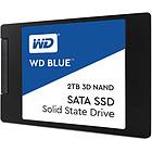 """produkt-foto van 'WD blue 3d nand ssd - 2tb, sata3-6g, 2.5"""", Read=560 MB/s, Write=530 MB/s'"""