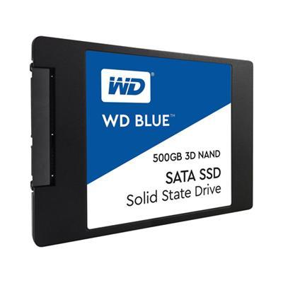 """produkt-foto van 'WD blue 3d nand ssd - 500gb, sata3-6g, 2.5"""", Read=560 MB/s, Write=530 MB/s'"""