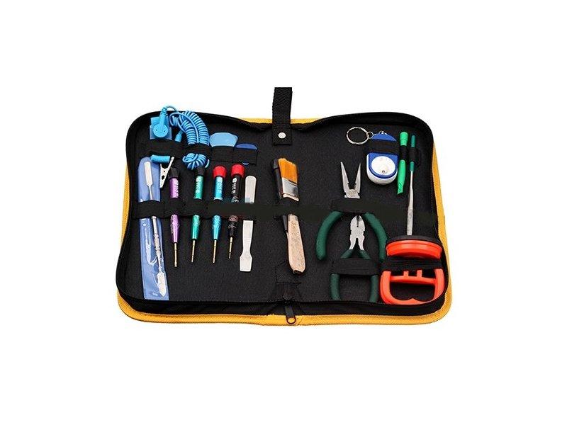 produkt-foto van 'Yanec iPad gereedschapkit, 17-delig, professioneel'