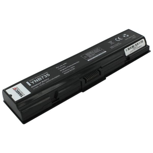 produkt-foto van 'Laptop Accu - 10,8-11,1v, 5.200mah, 58Wh, Yanec, zwart, acer ex55630ez'