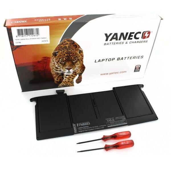 produkt-foto van 'Laptop Accu - 7,60v, 5,200mah, 39Wh, Yanec, zwart, Lithium-Polymeer)'