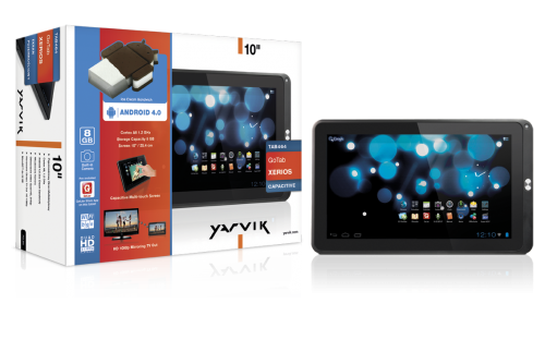 "produkt-foto van 'Yarvik 10"" GoTab Xerios (slimline - 8g - hdmi - Android 4)'"